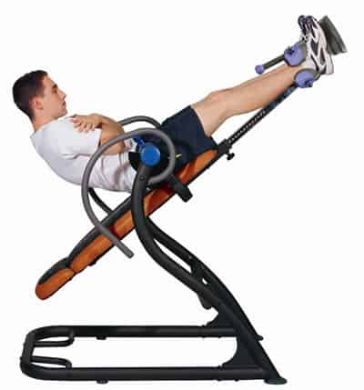 inverted spine machine