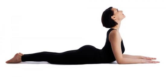 Yoga for back pain - sphinx pose